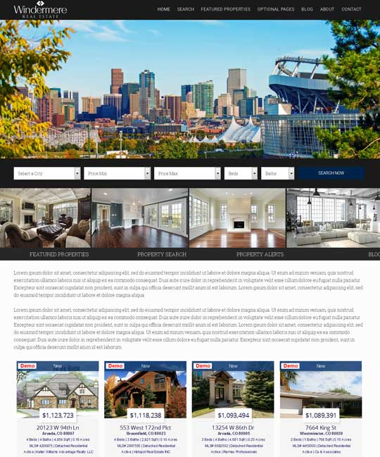 Berkshire IDX Real Estate WordPress Theme