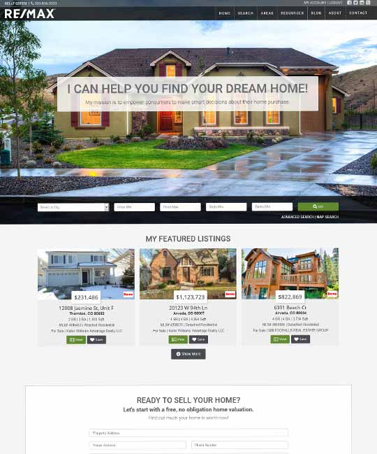 Berwickshire IDX Real Estate WordPress Theme