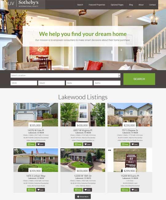 Berwickshire IDX Real Estate WordPress Theme