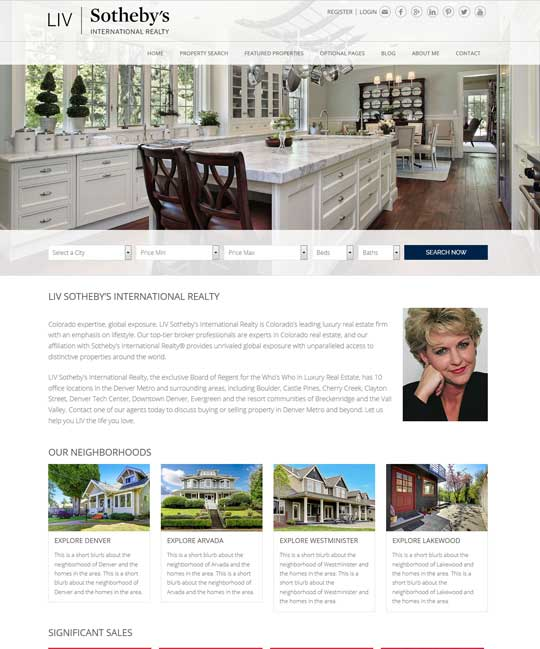 Buckinghamshire IDX Real Estate WordPress Theme