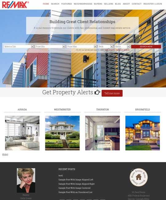 Cambridgeshire IDX Real Estate WordPress Theme