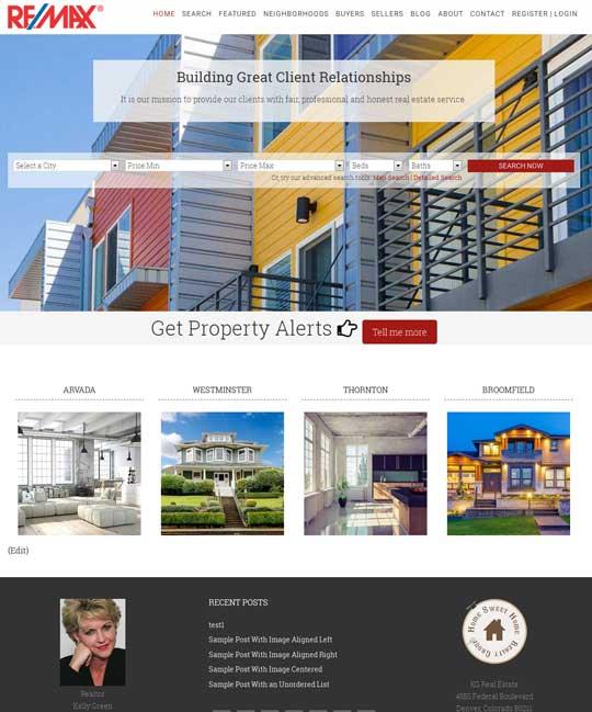 Cambridgeshire IDX Real Estate WordPress Theme