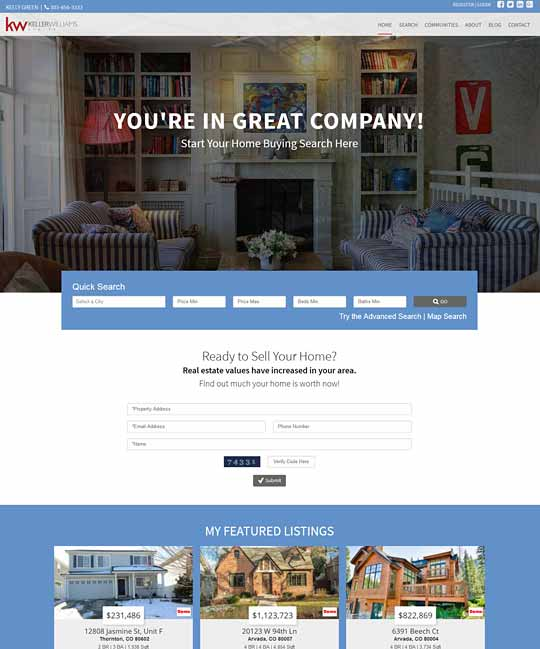 Cheshire IDX Real Estate WordPress Theme