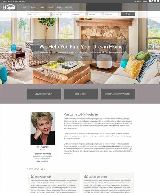 Essex IDX Real Estate WordPress Theme